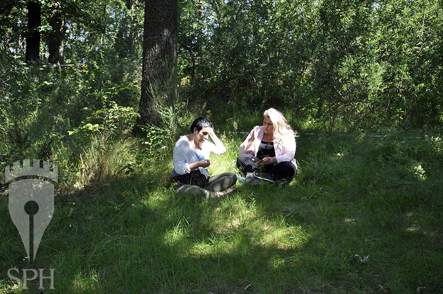 Joanna Lamparska i Agnieszka Dobkiewicz - autorki książek o Gross-Rosen